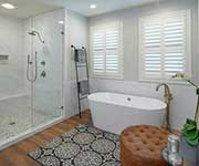 Bathroom Remodel Project completed by Classic Design Interiors in Lodi, CA